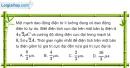 Bài IV.3, IV.4 trang 62 SBT Vật Lí 12