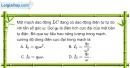 Bài IV.5, IV.6,  IV.7 trang 62 SBT Vật Lí 12