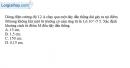 Bài 21.4 trang 51 SBT Vật Lí 11
