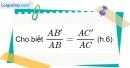 Bài 1 trang 66 Vở bài tập toán 8 tập 2