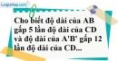 Bài 2 trang 66 Vở bài tập toán 8 tập 2