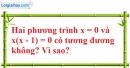 Bài 3 trang 6 Vở bài tập toán 8 tập 2