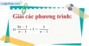 Bài 19 trang 19 Vở bài tập toán 8 tập 2