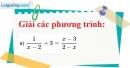 Bài 20 trang 20 Vở bài tập toán 8 tập 2