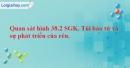 Bài 3 trang 72 SBT Sinh học 6