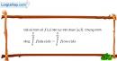 Bài 3.22 trang 172 SBT giải tích 12