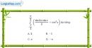 Bài 3.27 trang 173 SBT giải tích 12
