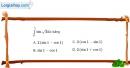 Bài 3.30 trang 174 SBT giải tích 12