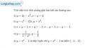 Bài 3.31 trang 178 SBT giải tích 12