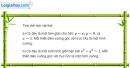 Bài 3.32 trang 178 SBT giải tích 12