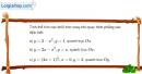 Bài 3.33 trang 178 SBT giải tích 12