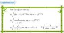 Bài 3.43 trang 180 SBT giải tích 12