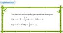 Bài 3.46 trang 181 SBT giải tích 12