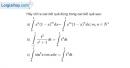 Bài 3.48 trang 181 SBT giải tích 12