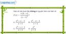 Bài 3.49 trang 182 SBT giải tích 12