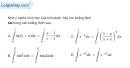 Bài 3.54 trang 183 SBT giải tích 12