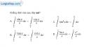 Bài 3.57 trang 183 SBT giải tích 12