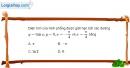Bài 3.58 trang 184 SBT giải tích 12