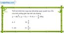 Bài 3.59 trang 184 SBT giải tích 12