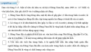 Câu 3 trang 76 SBT địa 9