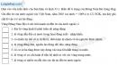Câu 3 trang 80 SBT địa 9