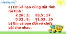 B. Hoạt động thực hành - Bài 40: Chia một số thập phân cho một số tự nhiên