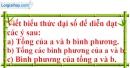 Bài 1 trang 18 SBT toán 7 tập 2