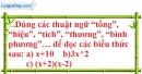 Bài 2 trang 19 SBT toán 7 tập 2
