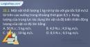 Bài 23.1, 23.2, 23.3 trang 55 SBT Vật lí 10
