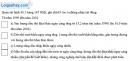 Câu 3 trang 95 SBT địa 9