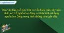 Câu 2 trang 102 SBT địa 9