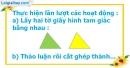 A. Hoạt động cơ bản - Bài 56 : Diện tích hình tam giác