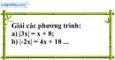 Bài 29 trang 61 Vở bài tập toán 8 tập 2
