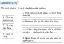 Câu 1 trang 96 SBT địa 10