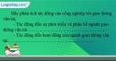 Câu 5 trang 101 SBT địa 10
