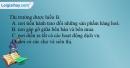 Câu 1 trang 106 SBT địa 10