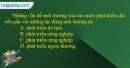 Câu 3 trang 111 SBT địa 10