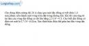 Bài 21.9 trang 51 SBT Vật Lí 11