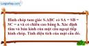 Bài 2.14 trang 60 SBT hình học 12