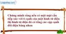 Bài 2.19 trang 61 SBT hình học 12
