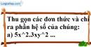 Bài 16 trang 21 SBT toán 7 tập 2