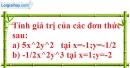 Bài 18 trang 21 SBT toán 7 tập 2