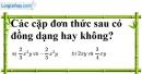 Bài 20 trang 22 SBT toán 7 tập 2