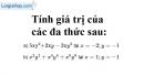 Bài 25 trang 23 SBT toán 7 tập 2