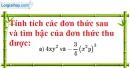 Bài 3.1, 3.2 phần bài tập bổ sung trang 21 SBT toán 7 tập 2