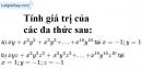 Bài 32 trang 24 SBT toán 7 tập 2