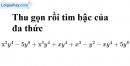 Bài 5.1, 5.2 phần bài tập bổ sung trang 23 SBT toán 7 tập 2