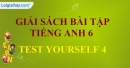 Test Yourself 4 - SBT Tiếng anh 6 mới
