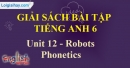 Phonetics - trang 40 Unit 12 SBT Tiếng anh 6 mới