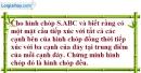 Bài 2.26 trang 62 SBT hình học 12